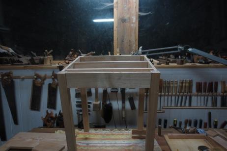 Montado para medir los laterales