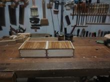 detalle de los laterales de arce