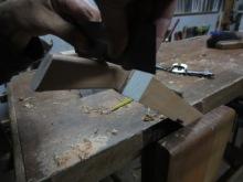 cuchilla de ebanista