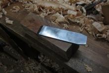 Encina y cuchilla
