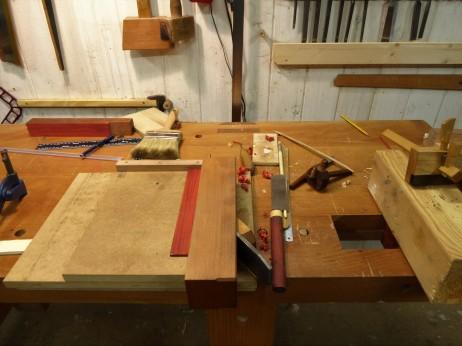 Preparando madera para incrustaciones