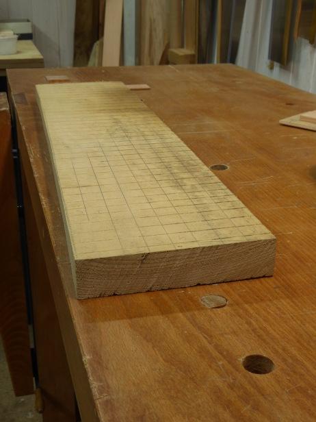 La tabla de castaño