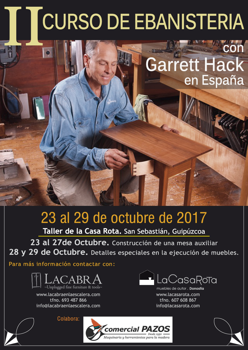 CURSO CON GARRETT HACK