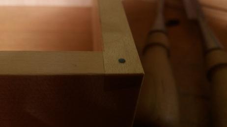 Detalle de incrustación de madreperla