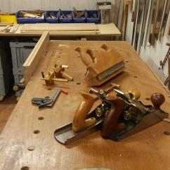 Preparando piezas de la estructura
